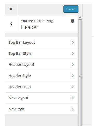 Theme Customiser