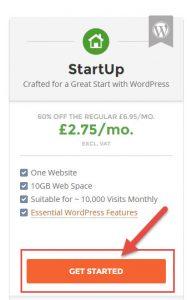 SiteGround StartUp Hosting