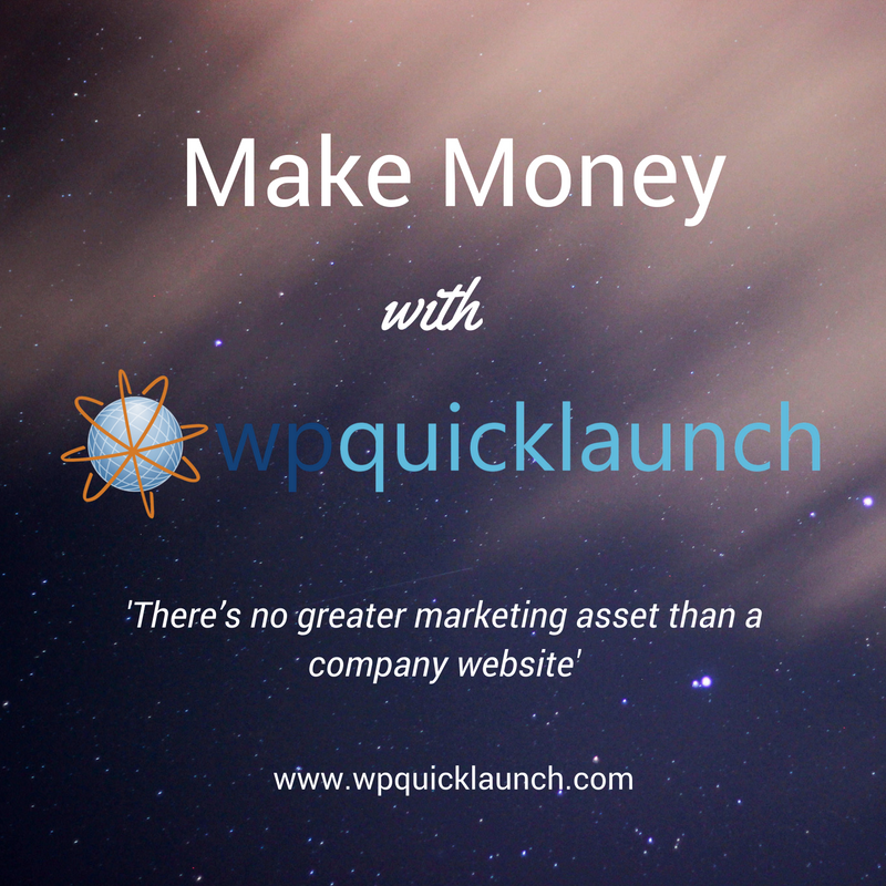 Make Money with WP Quicklaunch