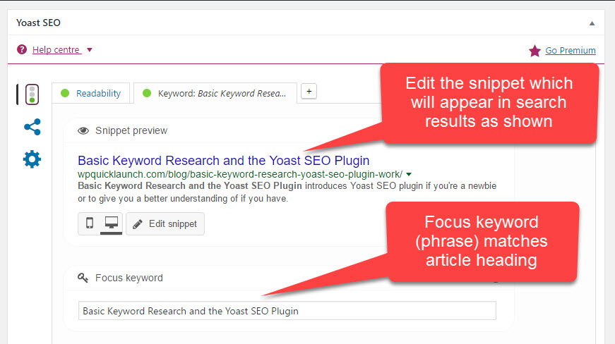 How Basic Keyword Research and the Yoast SEO Plugin Work