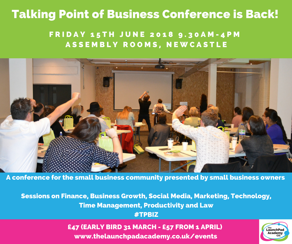 Talking Point of Business Conference Newcastle